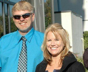 John & Carolyn Gerald of Extreme Seamless Gutters Myrtle Beach
