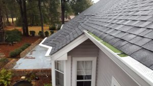 "Beautiful 6"" Gutters on a new home in Longs, SC"